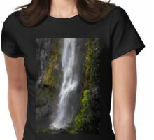 El Chorros Waterfalls of Giron XI Womens Fitted T-Shirt