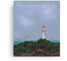 Geelong Lighthouse on a Clear day Canvas Print