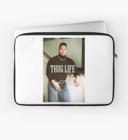 Throwback - Dwayne Johnson Laptop Sleeve