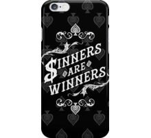Sinners Are Winners iPhone Case/Skin