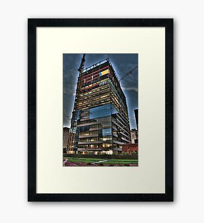 Naked Skyscraper Framed Print