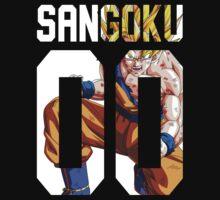 Sangoku Ssj 00 by Dandyguy