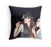 Gents club Throw Pillow