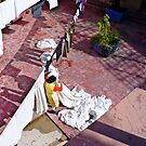 Just her and her laundry, Marrakesh by TheSpaniard