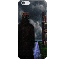 The Visitor Fine Art Print iPhone Case/Skin