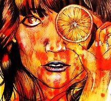 Orange by JoanOfArt