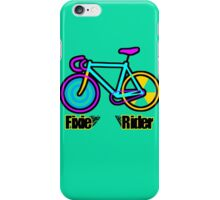 Fixie Rider iPhone Case/Skin