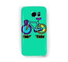 Fixie Rider Samsung Galaxy Case/Skin