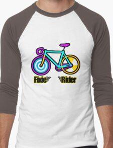 Fixie Rider Men's Baseball ¾ T-Shirt