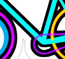 Fixie Rider Sticker