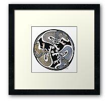 Celtic brush tailed Possums. Framed Print