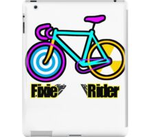 Fixie Rider iPad Case/Skin