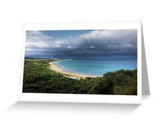 """Go Ride a Wave"",Urquhart Bluff,Great Ocean Road,Australia. Greeting Card"