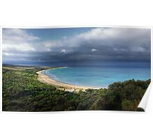 """Go Ride a Wave"",Urquhart Bluff,Great Ocean Road,Australia. Poster"
