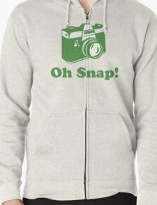 Oh Snap! Zipped Hoodie