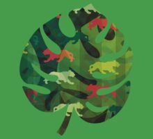 Jungle Camouflage Kids Clothes