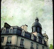 Derrière les toits by Marc Loret