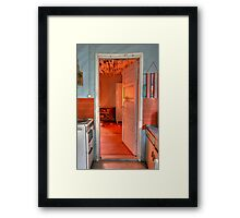 5.8.2009: Welcome to Redrum... Framed Print