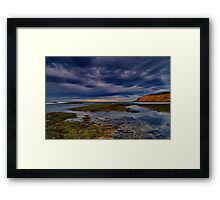 """Tranquility In The Face Of Turbulence"" Framed Print"