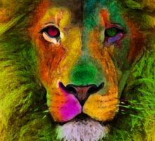 OCD LION HEAD Sticker