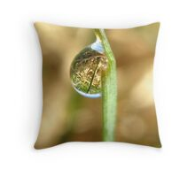 Your World Turned Upside Down Throw Pillow