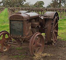 Vintage Fordson Tractor by David Hunt