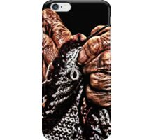 Old Hands Knitting iPhone Case/Skin