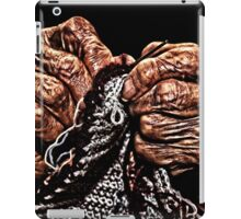 Old Hands Knitting iPad Case/Skin