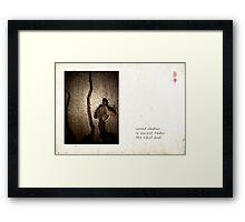 Silent Land Framed Print