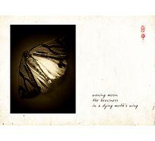 Waning Moon Photographic Print