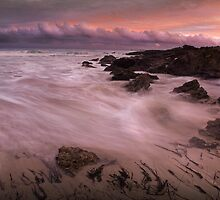 """Main Beach Sunset"",Anglesea,Great Ocean Road,Australia. by Darryl Fowler"