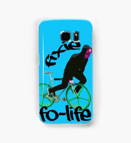 Fixie for life Samsung Galaxy Case/Skin