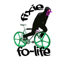 Fixie for life Photographic Print