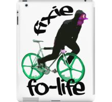 Fixie for life iPad Case/Skin