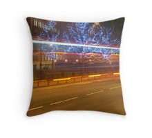 London Lights Throw Pillow