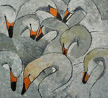 Swan Lake by Maria Karalyos