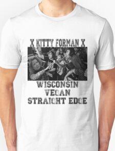 xVx Wisconsin xVx VEGAN Straight Edge Unisex T-Shirt