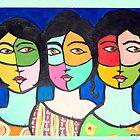 Three sisters by Ana Johnson