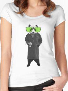 DRINKIN BEAR Women's Fitted Scoop T-Shirt