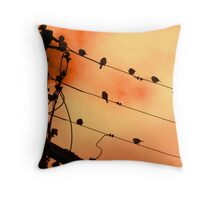 Wired For Sound Armidale New South Wales Throw Pillow
