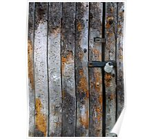 Tithe Barn Door at Stanway Poster