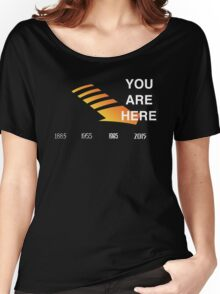 Back to The Future Timeline  Women's Relaxed Fit T-Shirt