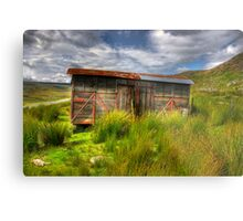 Abandoned Wagon #2 Metal Print