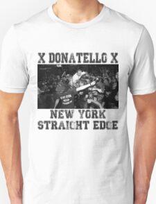 x DONATELLO x Straight Edge Unisex T-Shirt