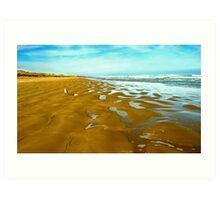 Coorong Beach 1 Art Print