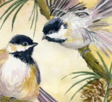 Chickadees Sticker