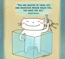 You have the key ... / Cat doodle by eyecreate