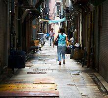 Hong Kong Laneway by Frank Donnoli