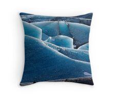 Glacier 2 Throw Pillow