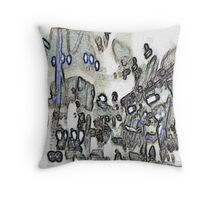 cardiff in peril Throw Pillow
